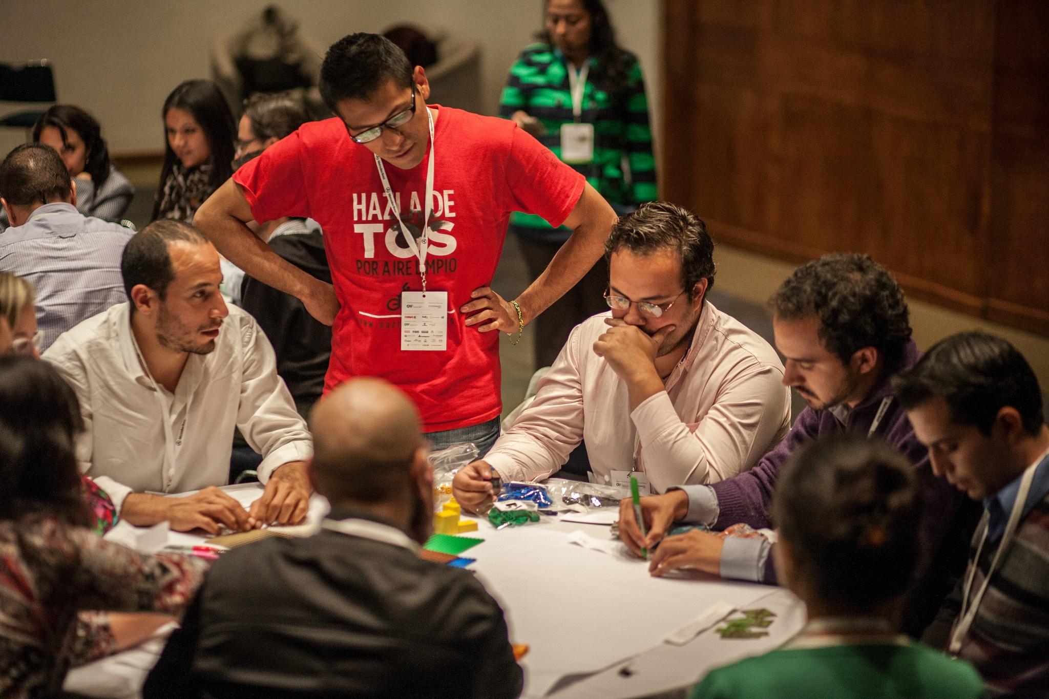 Teams reconcile varying agendas when planning their cities.